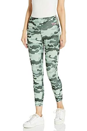 Juicy Couture Damen High Waisted Side Stripe 7/8 Leggings