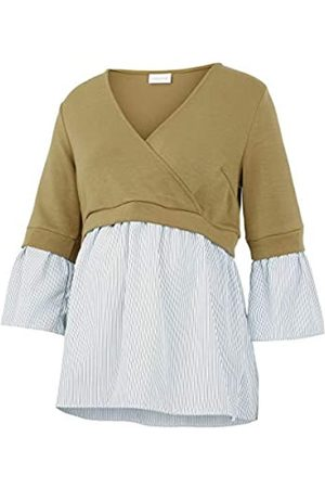 Mama Licious Damen MLJENNIFER TESS 3/4 Mix TOP 2F Bluse