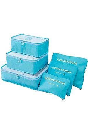 M-jump 6 Set Reise-Aufbewahrungstaschen Multifunktionale Kleidung Sortieren Pakete Reise Verpackung Kompression Tasche Gepäck Organizer Tasche - 738920566275