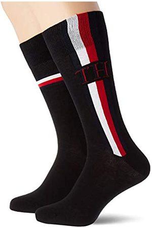 Tommy Hilfiger Unisex-child Iconic Men's (2 pack) Socks, Schwarz