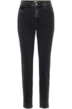 Pieces PIECES Female Mom Jeans High Waist LBlack
