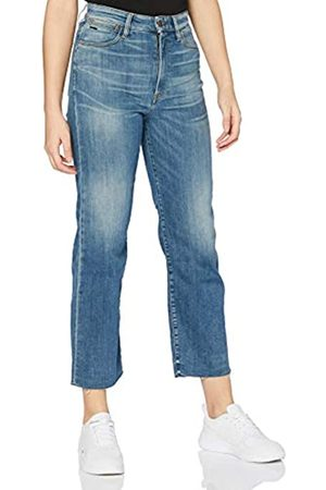 G-Star G-STAR RAW Womens Tedie Ultra High Waist Ripped Ankle Straight Jeans