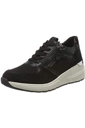 TOM TAILOR Damen 9091501 Sneaker, Black
