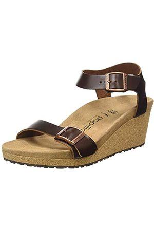 Papillio Damen Soley Cuir Naturel Sandale mit Absatz