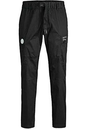 JACK & JONES Herren JJIACE JJPETE Cargo Pants YO Black PS Hose