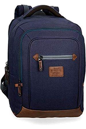 Pepe Jeans Pepe Jeans Arblay Laptop-Rucksack mit Doppelfach 31x44x15 cms Baumwolle 15