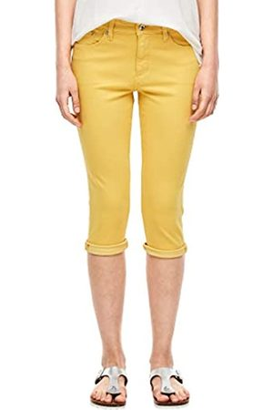 s.Oliver S.Oliver Damen Slim Fit: Farbige Caprijeans yellow 40