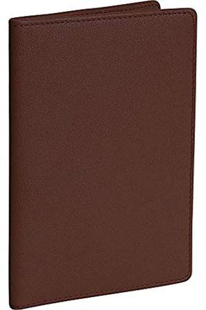 Royce Leather Royce Leather Reisepasshülle und Organizer für Reisedokumente aus Leder (Braun) - 200-COCO-5