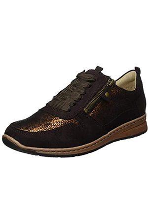 ARA Damen Sapporo Sneaker, (Moro Copper)