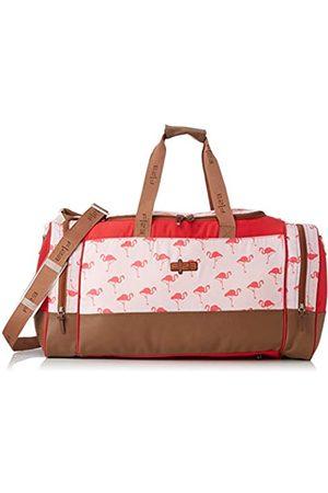 Friedrich23 F|23, Urban Survival Reisetasche, 63 x 30 x 34 cm, Inkl. 2 Seitentaschen, 54 Liter, Flamingo