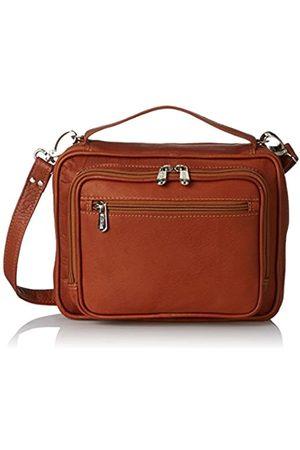 Piel Piel Leder Multi-Use Tablet Carry-All, Sattel