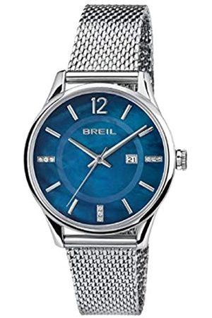Breil Armbanduhr BREIL Frau Contempo quadrante blau e uhrarmband in Stahl