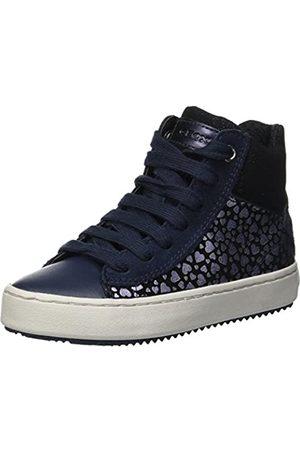 Geox Geox Mädchen J Kalispera Girl D Hohe Sneaker, Blau (Navy C4002)