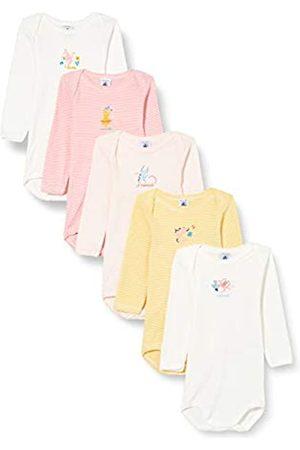 Petit Bateau Damen 5683700 Hemd, Fleur + Marshmallow/MINOIS + Marshmallow/Gretel + Gretel/Marshmallow + BLE/Marshmallow
