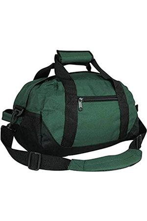 iEquip IEquip Seesack, Turnbeutel, robuste Reisetasche, zweifarbig (grün – klein (35,6 x 21,6 x 21