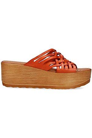 Musse & Cloud Women's Slip on Wedge Sandal Slide