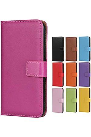 Jaorty Jaorty Schutzhülle für Huawei P10 Lite, echtes Premium-Leder, Brieftaschen-Design, mit Ständer-Funktion