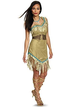 Disguise Disney Pocahontas Deluxe-Kostüm für Erwachsene - - Large