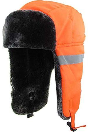 KBETHOS Hi-Viz Trapper Warme Arbeitskleidung Kalt Winddicht Winter Flieger Trooper Jagd Hut Ushanka Bike - - Einheitsgröße