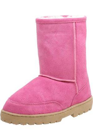 Chooka Damen Shearling Low Boot, Pink (hot pink)