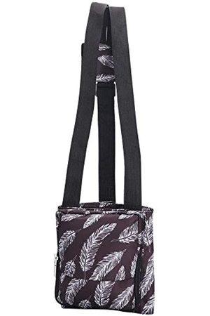 QEES Reise-Handgepäck-Organizer, Mehrzweck-Gepäckgurte mit verstellbarer Größe, einfaches Bungee für Tragetasche, Seesack, Koffer, kleines sicheres Reisezubehör (Kaffee