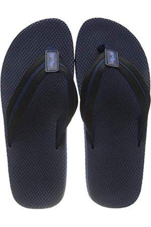 flip*flop Unisex Tex Comfy Sandale, Deep Night/Black
