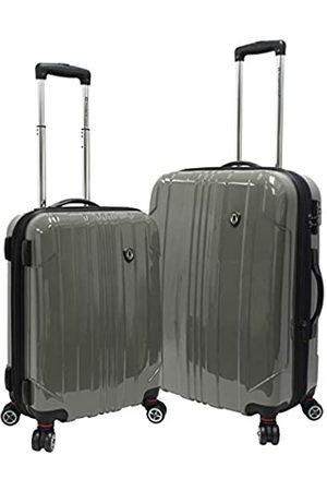 Traveler's Choice Reisetaschen - Sedona Reisekoffer, 100 % Polycarbonat, erweiterbar, 8 Räder