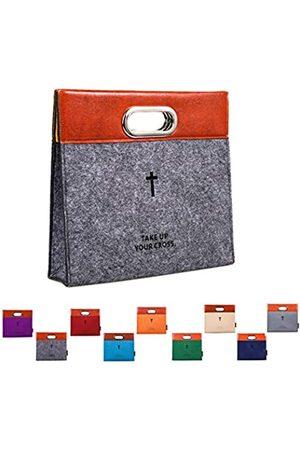 AGAPASS AGAPASS Bibel-Tragetasche, Handtasche, Filz-Bibelüberzug für Damen und Herren, Bibel-Tragetasche, mit Reißverschluss