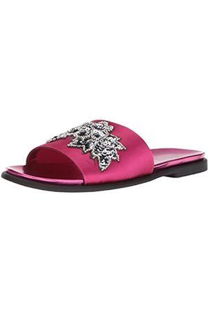 Kenneth Cole Women's Jel-OUS Embellished Slip On Slide Sandal