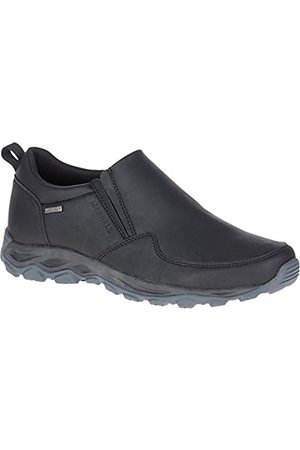 Merrell Merrell Herren Ice Cap Guide Moc Wasserdichte Schuhe (schwarz)