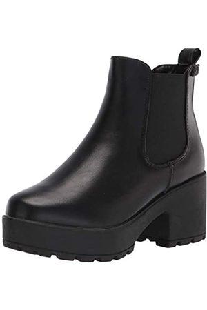 Coolway Damen Chelsea Boot, Schwarz (NBK)