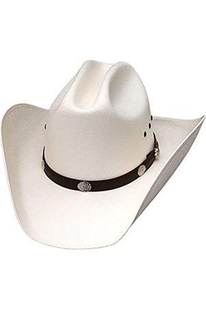 "WESTERN EXPRESS Classic Cattleman Strohhut Cowboyhut mit silbernen Conchos - - 7 (22 1/4 "")"