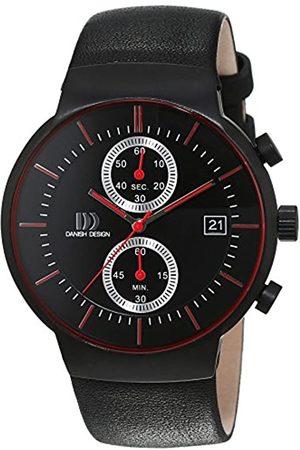 Danish Design Danish Design Herren-Armbanduhr Analog Quarz Leder 3316343