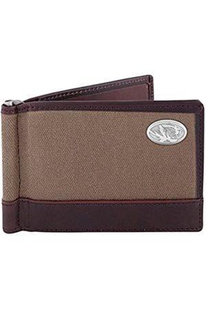 ZEP-PRO NCAA Missouri Tigers Canvas Leather Concho Razor Wallet
