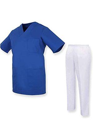 MISEMIYA Unisex-Schrubb-Set - Medizinische Uniform mit Oberteil und Hose ref.81782 - XX-Large