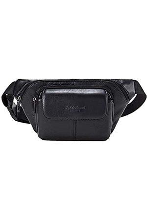 AIAIMEI Herren-Gürteltasche aus echtem Leder, große Gürteltasche, Hüfttasche, taktische Taschen, Organizer, Handy-Tasche für Outdoor, Wandern, Reisen