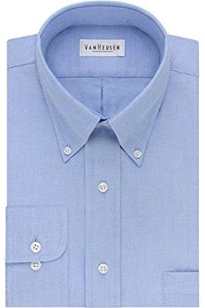 Van Heusen Herren Kleid Hemd Regular Fit Oxford Solid - - 41 cm Hals 91 cm- 94 cm Ärmel
