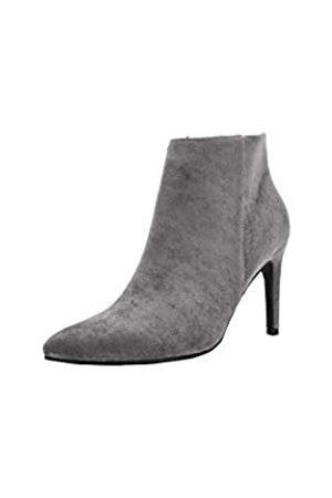 Mila Lady Stiefelette mit spitzem Zehenbereich, elegante Stiletto-Absätze, Schwarz