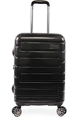 "Original Penguin ORIGINAL PENGUIN Crimson 21"" Hardside Carry-on Spinner Luggage, Black"