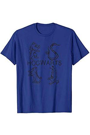 Harry Potter Harry Potter Literary Crests T-Shirt