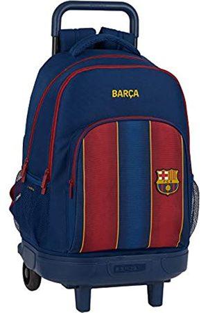 Safta Safta Schulrucksack mit Trolley und gepolstertem Rücken von FC Barcelona, 20/21