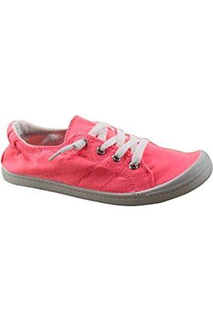 Generic Soda Zig-s Damen Sneakerschuhe mit flachem Absatz, (neon pink)