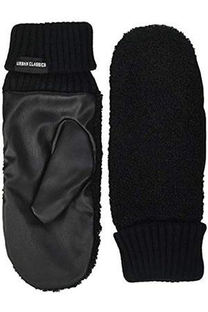 Urban classics Unisex Sherpa Imitation Leather Gloves Winter-Handschuhe
