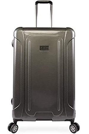 """Original Penguin ORIGINAL PENGUIN Luggage Crest 29"""" Hardside Check in Spinner, Charcoal"""