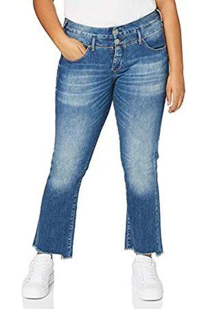 Herrlicher Damen Baby Cropped Cashmere Touch Jeans