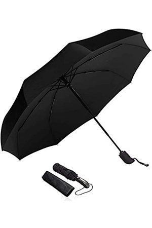 FLOVEA Kompakter Reise-Regenschirm – Winddicht, verstärkter Schirm, ergonomischer Griff, automatisches Öffnen/Schließen