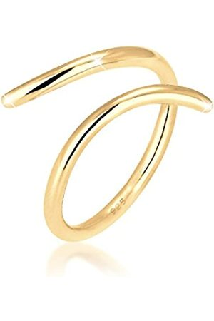 Elli Elli Ring Damen Wickelring Blogger Statement in 925 Sterling Silber