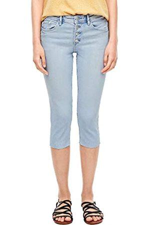 s.Oliver S.Oliver Damen Slim Fit: Capri-Jeans 38