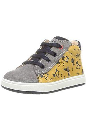 Geox Geox Baby-Jungen B BIGLIA Boy B First Walker Shoe, (Dk Yellow/Grey)