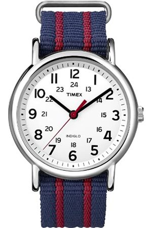 Timex Unisex Analog Quarz mit Nylon Armband T2N747